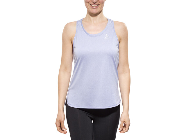 Odlo TEBE - Camiseta sin mangas running Mujer - azul